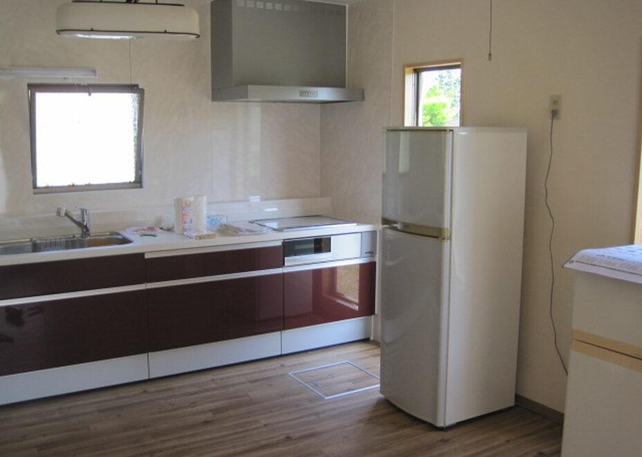 Glamp House DAISENのキッチン