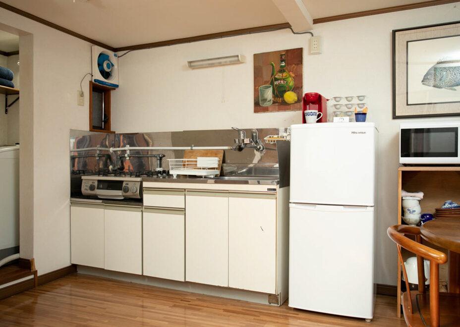 Arroz y Frijoles 1のキッチン