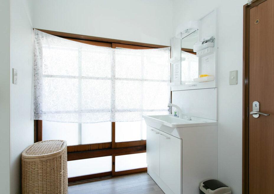 Arroz Y Frijolesの洗面所