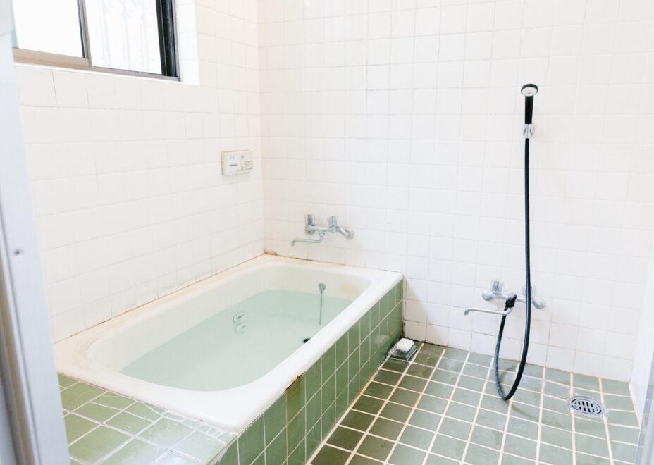 猫宿のお風呂・洗面所