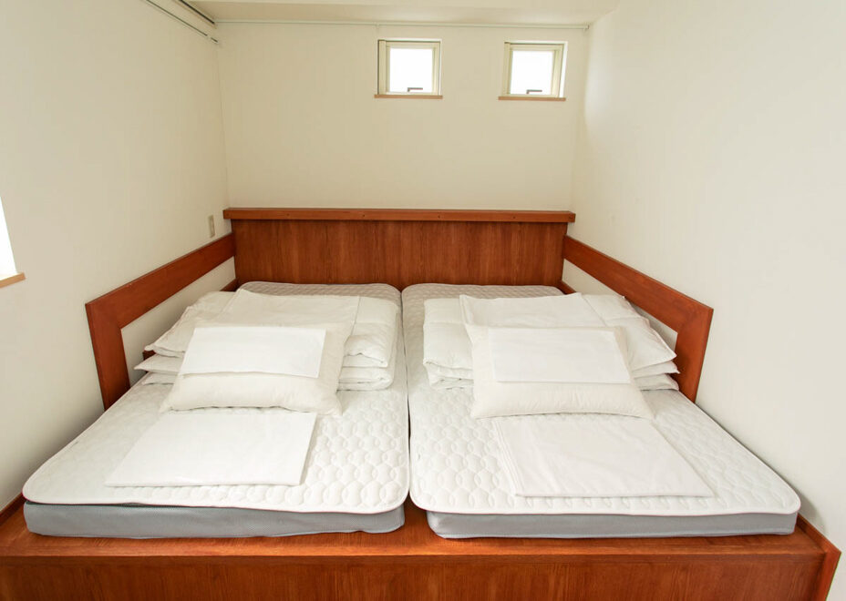 長谷壱番館の寝室