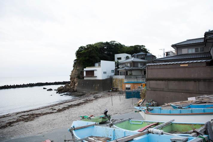 腰越の海岸2