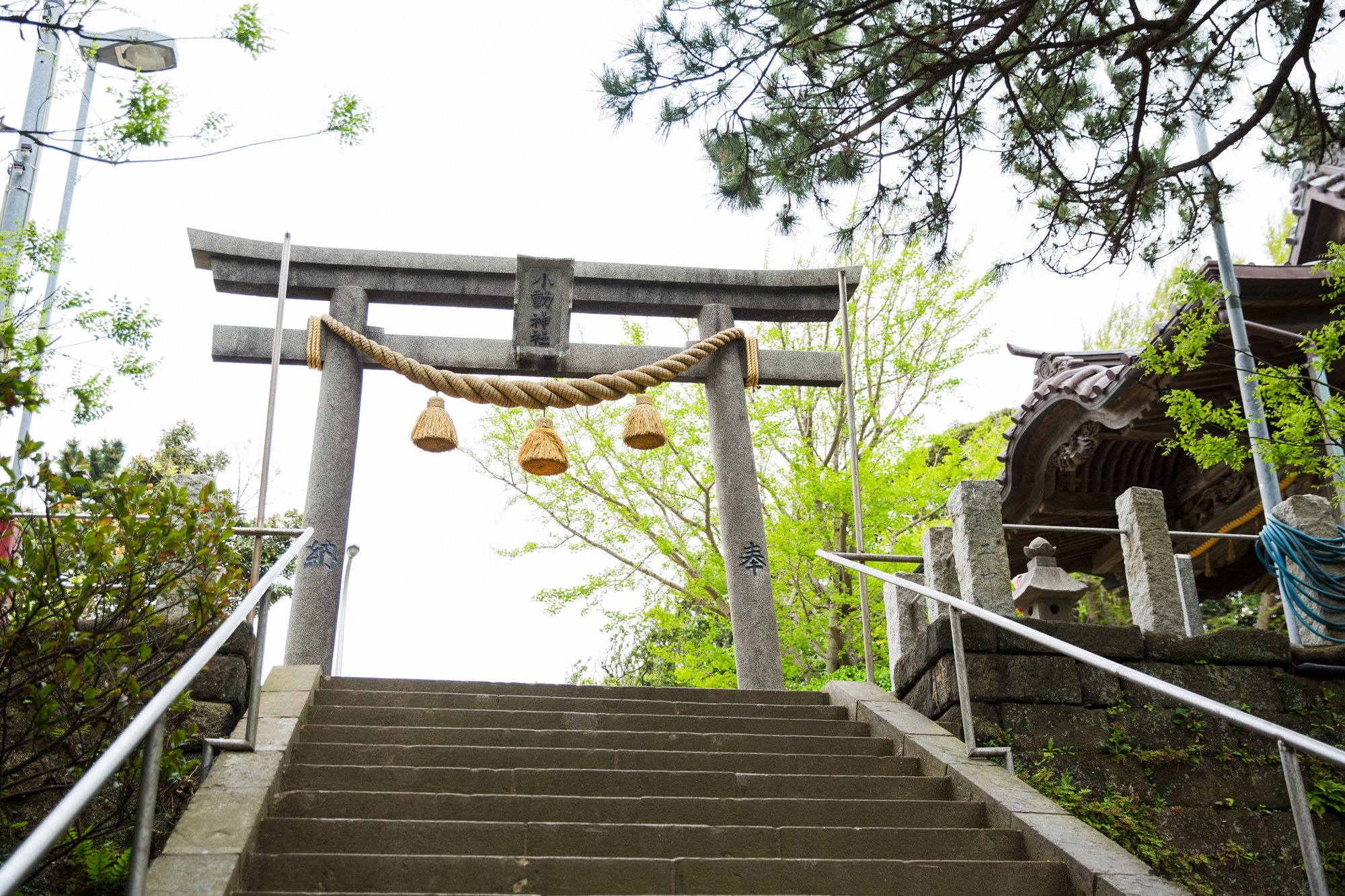 腰越の神社