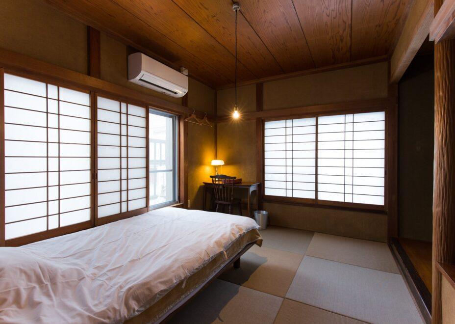 haletto house KOSHIGOEの寝室