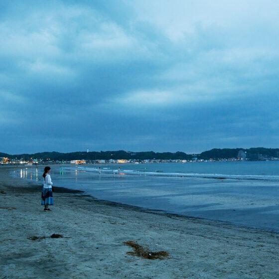 The sea in Kamakura