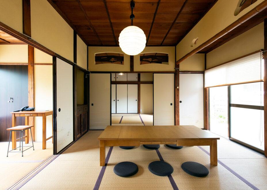 haletto house SAKANOSHITAの和室