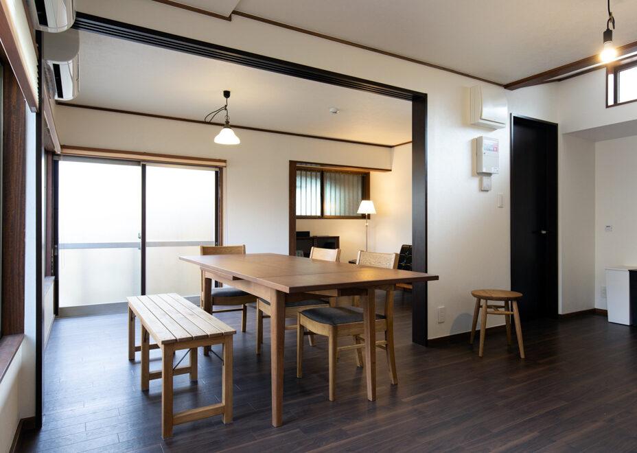 haletto house SAKANOSHITAのリビング