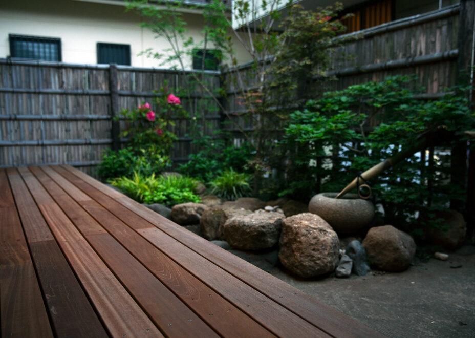 haletto house SAKANOSHITAの庭